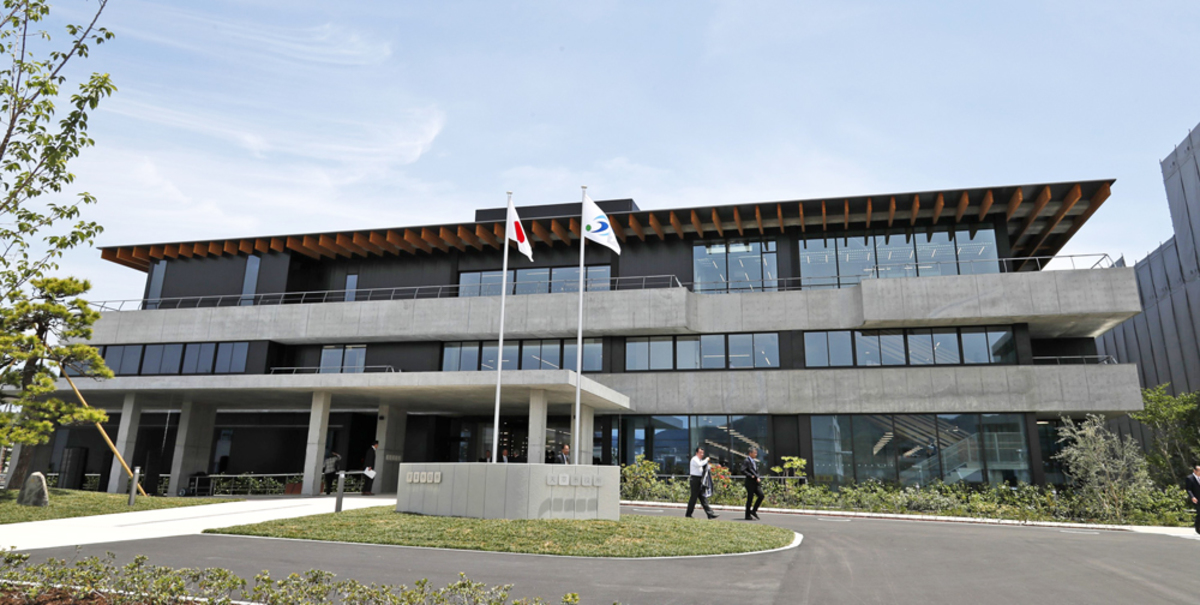天草市新庁舎が完成 6月3日に業務開始