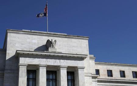 米ワシントンにある連邦準備制度理事会(FRB)の建物=3月19日 ...