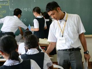 新任先生(2)転身 会社員から教師へ 【西日本新聞ニュース】