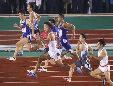 陸上 日本 選手権 100 メートル 決勝