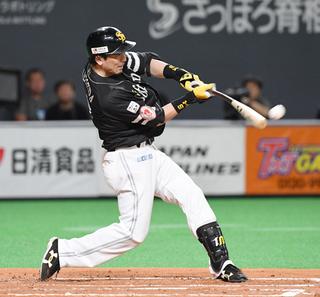 ソフトバンク松田宣、通算300二塁打|【西日本スポーツ】