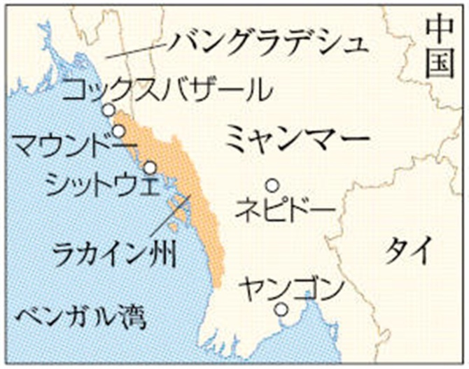 ミャンマー アベノマスク