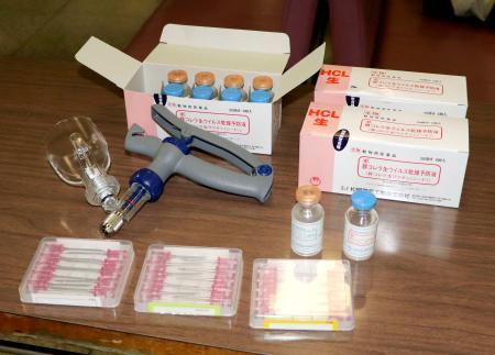 注射器 ワクチン