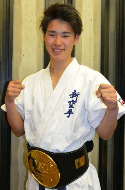 福大・城さん新空手日本一 小郡「健生館」に所属「格闘家で活躍したい ...