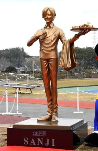 銅像 熊本 ワンピース