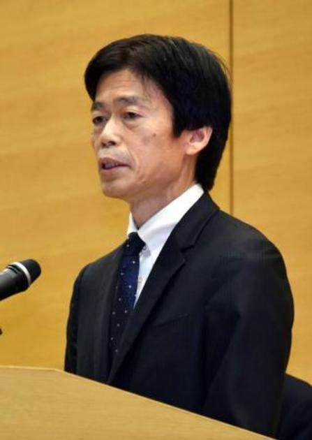 西日本新聞  前総務次官「迷惑掛けた」と謝罪