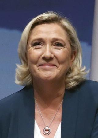 フランスの極右政党、国民連合のマリーヌ・ルペン党首(ゲッティ=共同 ...