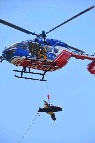 救助 ヘリコプター