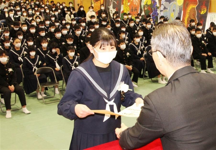 卒業 式 中学校 『卒業式式辞』
