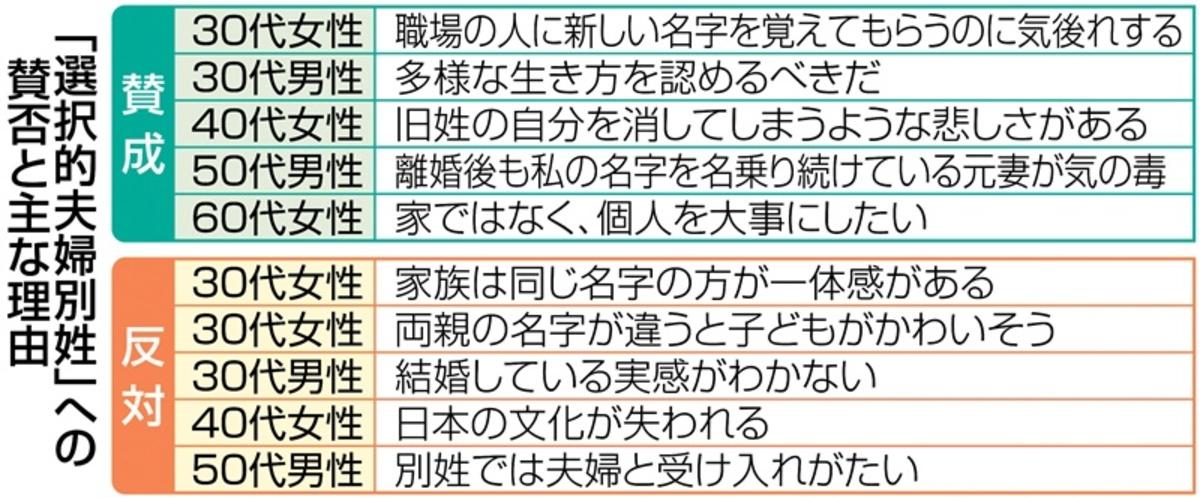 夫婦 別姓 日本