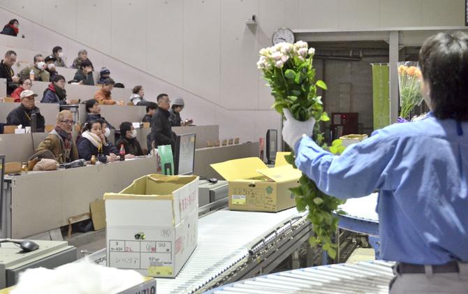 花 市場 福岡