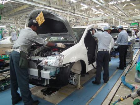 トヨタ 工場 停止