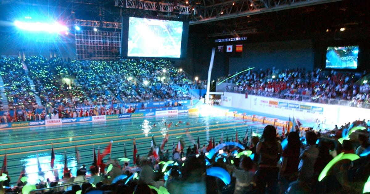 世界 水泳 福岡