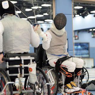 車椅子 フェンシング