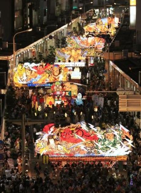 ねぶた 祭り 中止