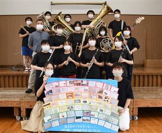 吹奏楽 卒業 写真
