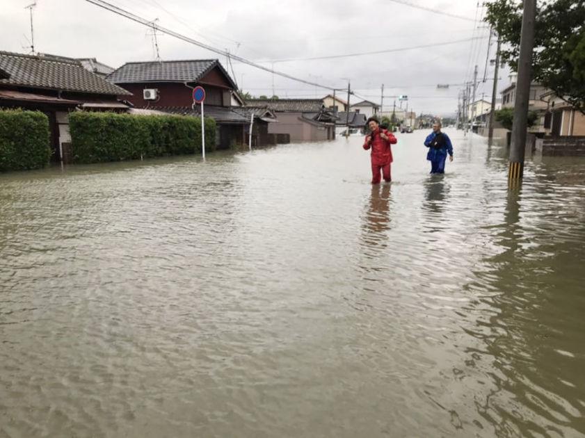 【動画あり】生後2か月の赤ちゃん救助 福岡県大牟田市