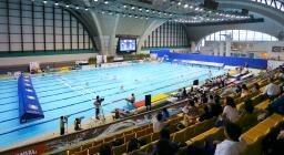 水泳 場 国際 辰巳