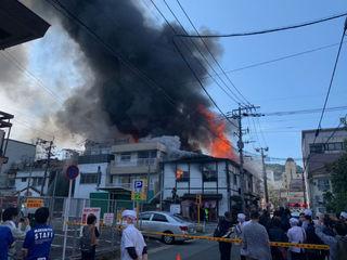 どこ 長崎 火事