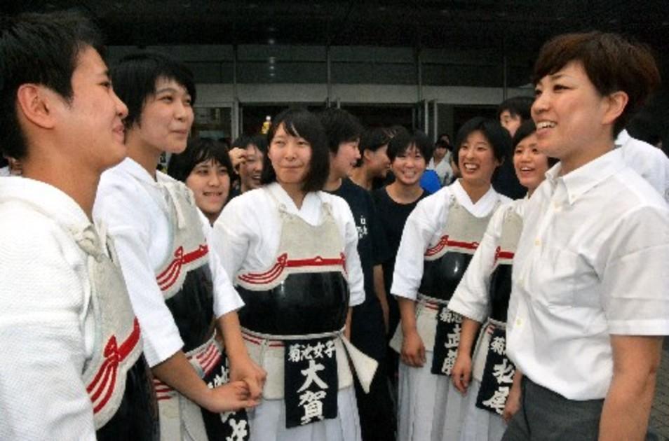 高校 菊池 剣道 部 女子