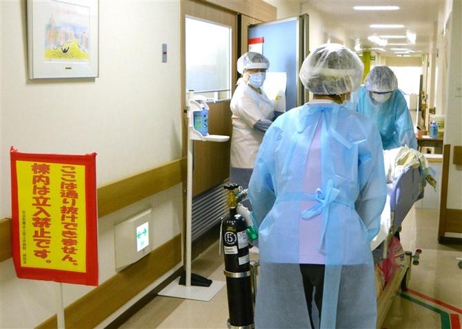 コロナ ウイルス 入院