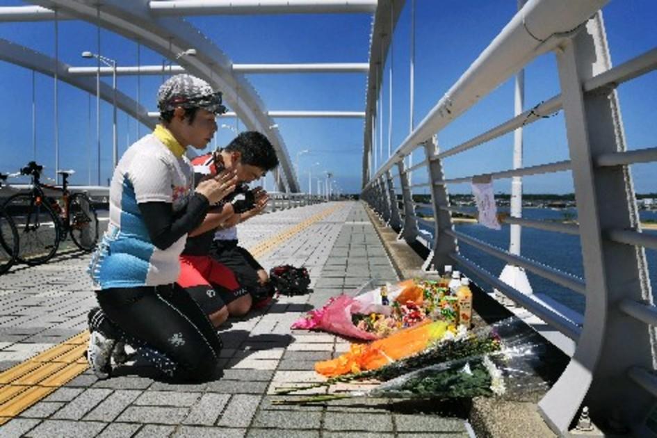 道 事故 海 大橋 の 中